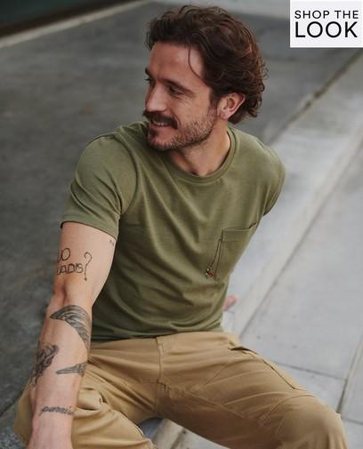 Snelle combo: T-shirt en broek